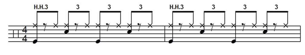 Shuffle Beat Example 2