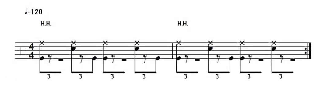 Shuffle Beat Example 3