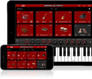 SampleTank 2 for iOS Live Mode