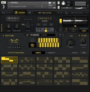 Exhale Modulation Step Sequencer