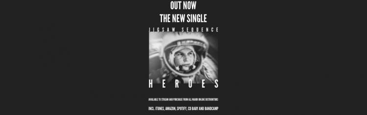 "New Single - ""Heroes"""